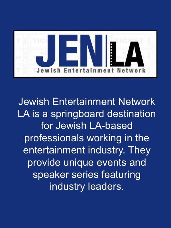 Networking Group for Jewish Entertainment Industry Professionals